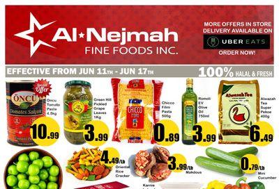 Alnejmah Fine Foods Inc. Flyer June 11 to 17