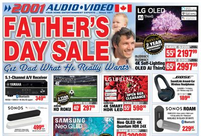 2001 Audio Video Flyer June 11 to 17