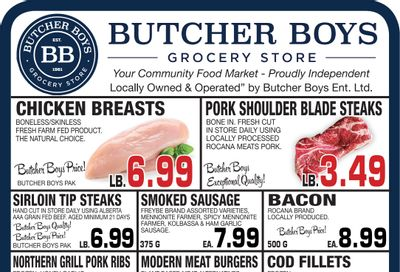 Butcher Boys Grocery Store Flyer June 11 to 17
