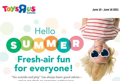 Toys R Us Flyer June 10 to 16