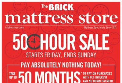 The Brick Mattress Store Flyer June 11 to 14