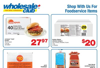 Real Canadian Wholesale Club Food Service Flyer June 11 to July 8