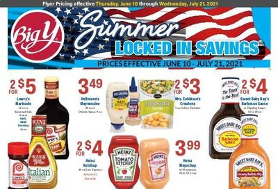 Big Y (CT, MA) Weekly Ad Flyer June 10 to July 21