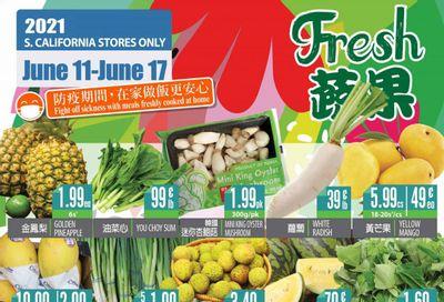 99 Ranch Market (CA) Weekly Ad Flyer June 11 to June 17