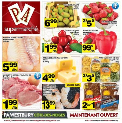 Supermarche PA Flyer June 14 to 20