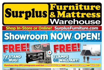 Surplus Furniture & Mattress Warehouse (Thunder Bay & Sault Ste Marie) Flyer June 11 to July 11