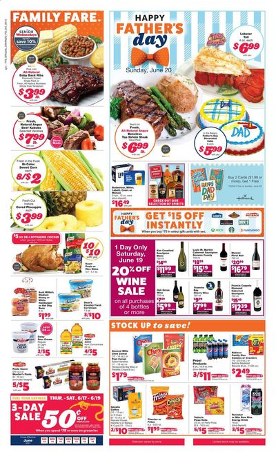Family Fare (MI) Weekly Ad Flyer June 13 to June 19
