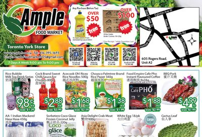 Ample Food Market (North York) Flyer June 11 to 17