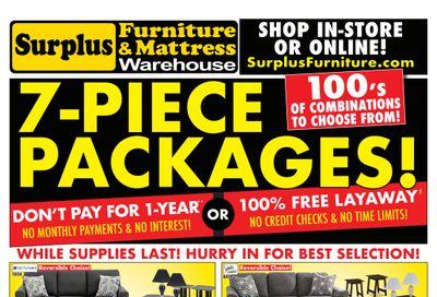 Surplus Furniture & Mattress Warehouse (Edmonton) Flyer June 14 to 27