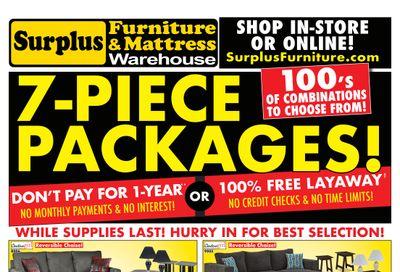 Surplus Furniture & Mattress Warehouse (Charlottetown) Flyer June 14 to 27