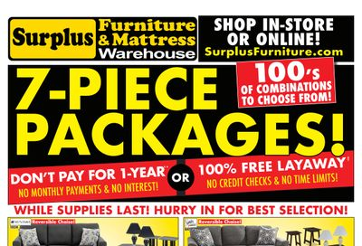 Surplus Furniture & Mattress Warehouse (Calgary) Flyer June 14 to 27