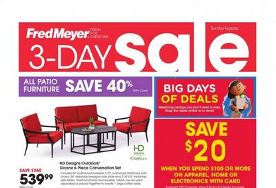 Fred Meyer (DC, DE, NJ, NY, PA, VA) Weekly Ad Flyer June 13 to June 15