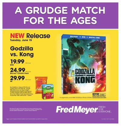 Fred Meyer (DC, DE, NJ, NY, PA, VA) Weekly Ad Flyer June 15 to June 15