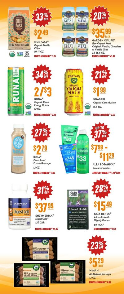 Natural Grocers Weekly Ad Flyer June 18 to June 20
