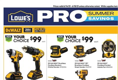 Lowe's Weekly Ad Flyer June 14 to June 18
