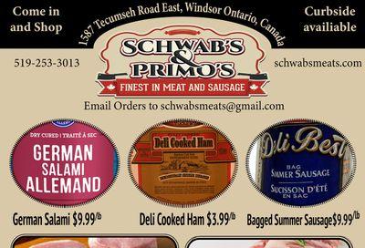 Schwab's & Primo's Flyer June 15 to 19