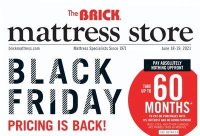 The Brick Mattress Store Flyer June 15 to 24