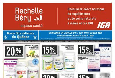 Rachelle Bery Health Flyer June 17 to July 14