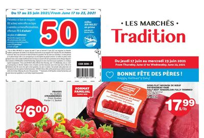 Marche Tradition (QC) Flyer June 17 to 23