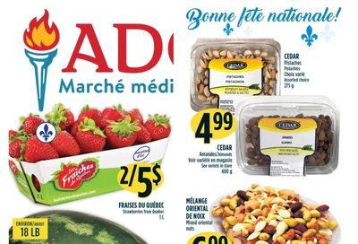 Marche Adonis (QC) Flyer June 17 to 23