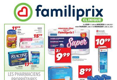 Familiprix Clinique Flyer June 17 to 23