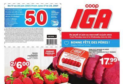 Coop IGA Flyer June 17 to 23