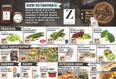 Pepper's Foods Flyer June 15 to 21