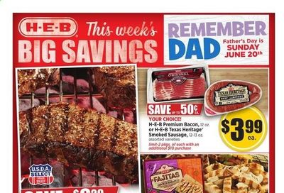 H-E-B (TX) Weekly Ad Flyer June 16 to June 22