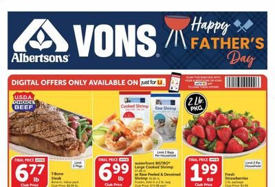 Vons (CA) Weekly Ad Flyer June 16 to June 22