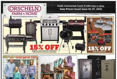 Orscheln Farm and Home (IA, IN, KS, MO, NE, OK) Weekly Ad Flyer June 16 to June 27