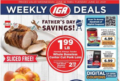 IGA Weekly Ad Flyer June 16 to June 22