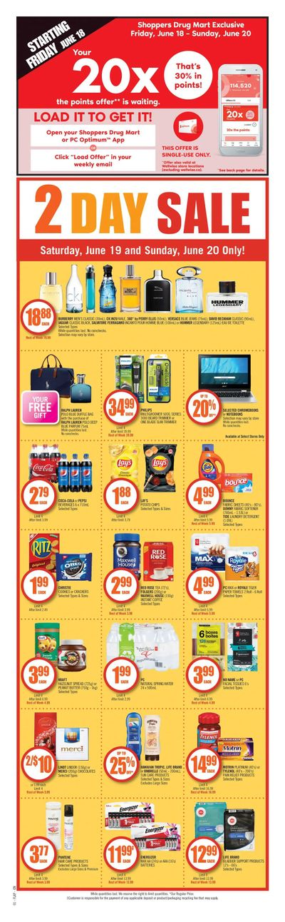 Shoppers Drug Mart (ON) Flyer June 19 to 24