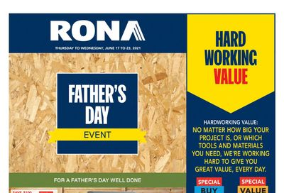 Rona (ON) Flyer June 17 to 23