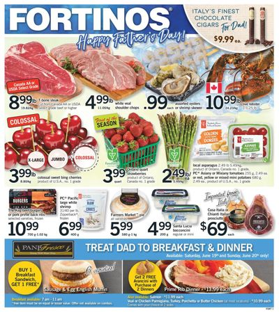 Fortinos Flyer June 17 to 23