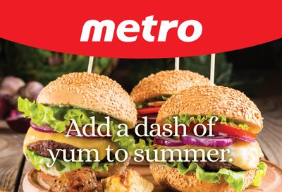 Metro (ON) Add a Dash of Yum to Summer Flyer June 17 to July 14