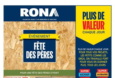 Rona (QC) Flyer June 17 to 23