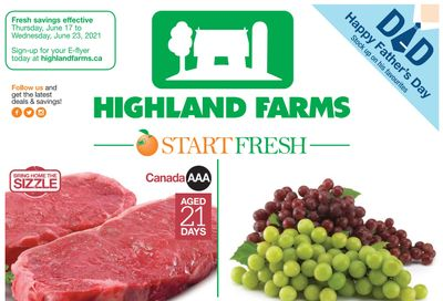 Highland Farms Flyer June 17 to 23