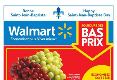 Walmart (QC) Flyer June 17 to 23
