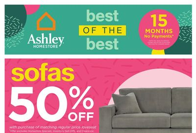 Ashley HomeStore (West) Flyer June 15 to 24