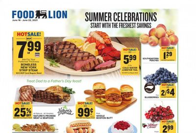 Food Lion (NC) Weekly Ad Flyer June 16 to June 22