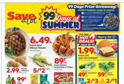 Save a Lot Weekly Ad Flyer June 16 to June 22