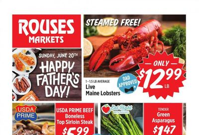 Rouses Markets (AL, LA, MS) Weekly Ad Flyer June 16 to June 23