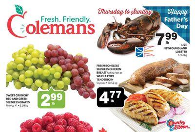 Coleman's Flyer June 17 to 23
