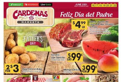 Cardenas (CA, NV) Weekly Ad Flyer June 16 to June 22