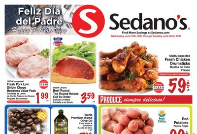 Sedano's (FL) Weekly Ad Flyer June 16 to June 22