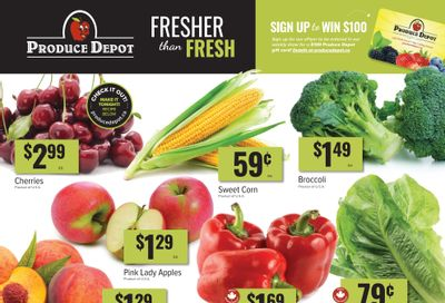 Produce Depot Flyer June 16 to 22