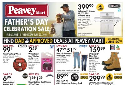 Peavey Mart Flyer June 18 to 24