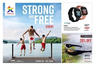 Canex Strong and Free Event Flyer June 16 to 27