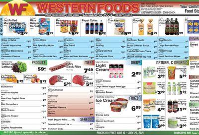 Western Foods Flyer June 16 to 22