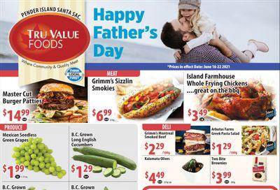 Tru Value Foods Flyer June 16 to 22